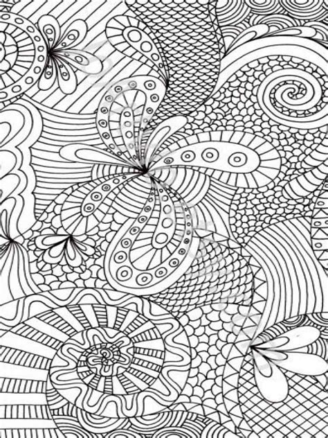 adult coloring pages printable   abstract