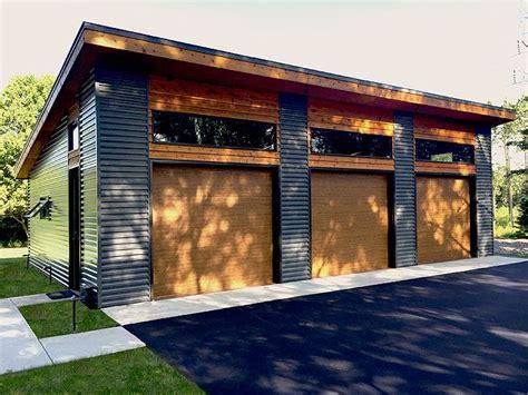 3car Garage Plans  Modern Threecar Garage Plan Design