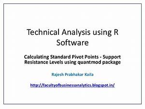 Technical Analysis using R Software - Calculating Standard ...