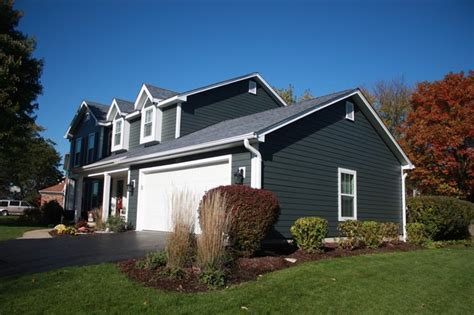 iron gray james hardie siding modern chicago  opal