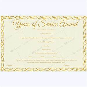 89 elegant award certificates for business and school events With certificate for years of service template