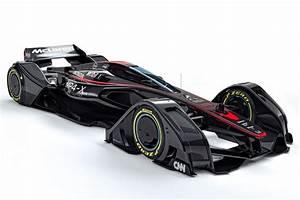 McLaren Formula 1 Team Unveils MP4 X Concept Car F1