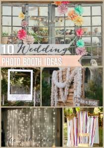10 diy wedding photo booths the creative - Photo Booth Ideas For Wedding