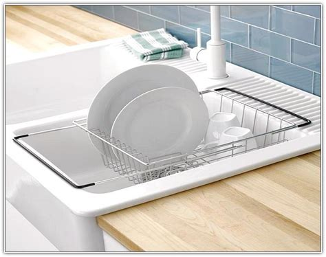 in sink dish drying rack genius style of over the sink dish drying rack trends4us com