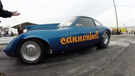 Opel Gt Drag Car by Cannonball Opel Gt Drag Car