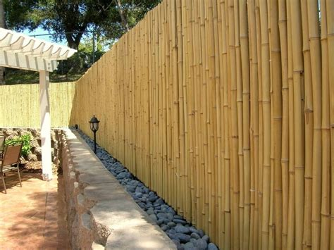pictures of bamboo fences 15 creative and inspiring garden fence ideas home and gardening ideas