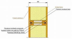 Epaisseur Mur Ossature Bois : ossature bois le si ge d 39 izuba nergies ~ Melissatoandfro.com Idées de Décoration