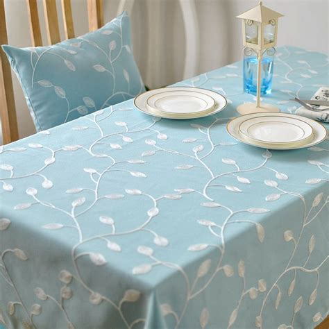 aliexpress buy korean style fresh perspective embroidered table cloth pastoral coffee