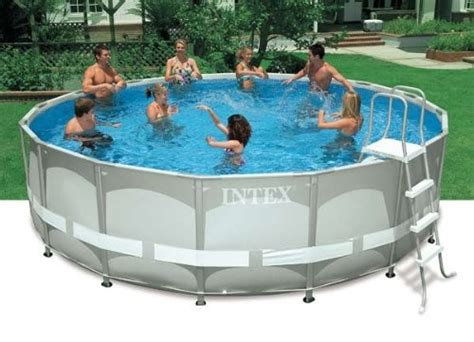 Intex Above Ground 16ft X 48in Ultra Frame Swimming Pool