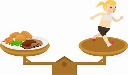 Clipart Clip Nutrition Scales Diet Healthy Balanced
