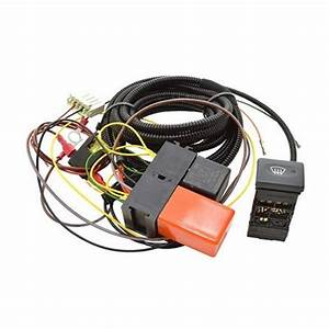 Heated Windscreen Wiring Kit With Switch For Land Rover