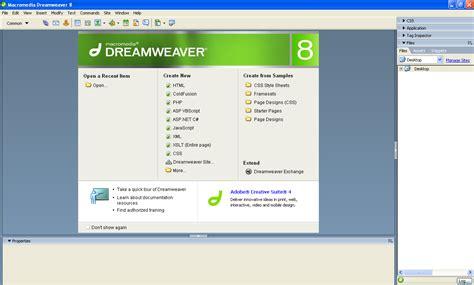 Dreamweaver Templates Torrent by Macromedia Dreamweaver 8 Version Free