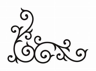 Clipart Lace Corner Scroll Clipartmag