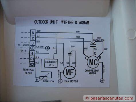 samsum 24000 btu solo frio necesito diagrama electrico yoreparo