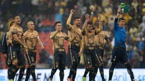 pumas hang   beat club america advance  liga mx