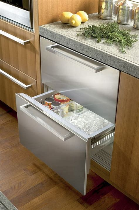 congelateur a tiroir tiroirs r 233 frig 233 rateur cong 233 lateur sous plan1 appareils menager frigo tiroir