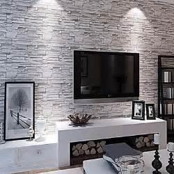 Décoller Du Papier Peint Avec Une Décolleuse by Modern 3d Brick Pattern Wallpaper 0 53m 10m Wall Covering