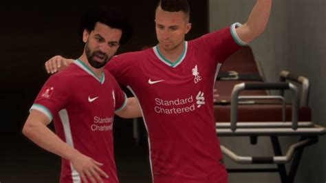 FIFA 21 Salah incredible goal - YouTube