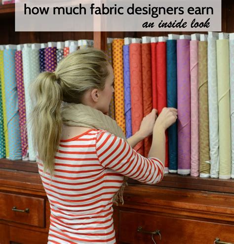 how much does a designer make an inside look at how much fabric designers earn