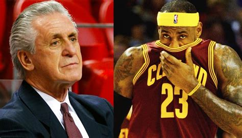 pat on lebron pat speaks on anger he felt when lebron left for cavs cavaliers nation