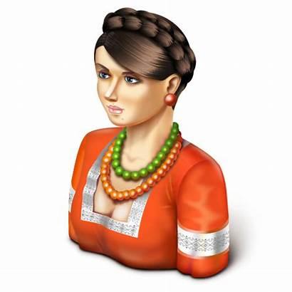 Icon Female Icons Ukrainian Artua Oksana Ico
