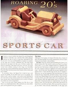 Wooden Sports Car Plans • WoodArchivist