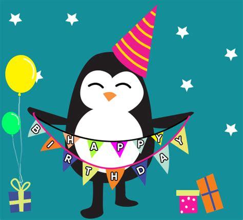 penguin funny dance birthday   funny birthday wishes ecards