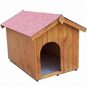 Niche Petit Chien : niche bois habrita pour petit chien maison et loisirs e ~ Melissatoandfro.com Idées de Décoration