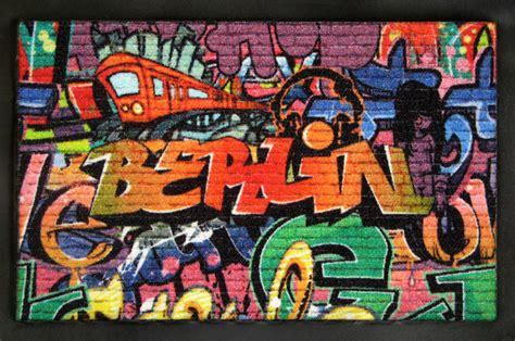 rockbites fussmatten rockige fussmatten berlin graffiti