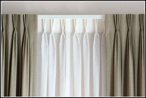 decorative double traverse curtain rods  page