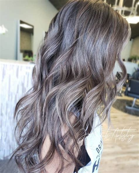 ash colored hair 15 best ash hair colors of 2019 ombre highlights