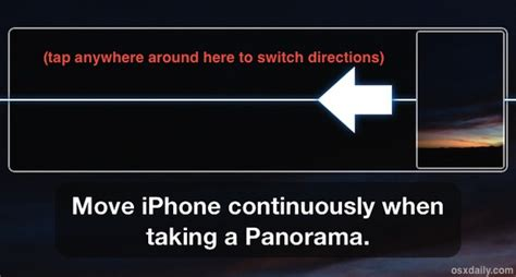 how to take a panorama on iphone switch direction when taking panorama photos with iphone