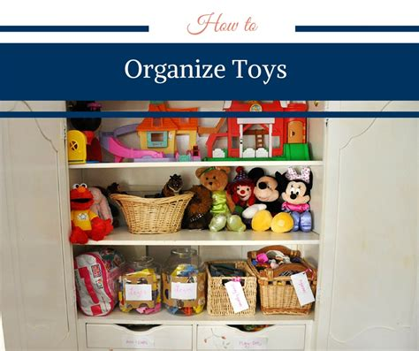 How to Organize Toys - Happy Family Blog