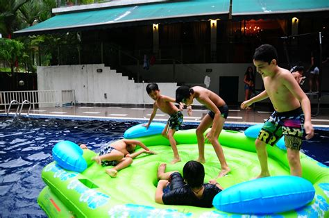 event directus pool party fun  kids teens adults