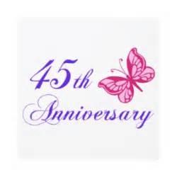 45 wedding anniversary 45th anniversary clipart