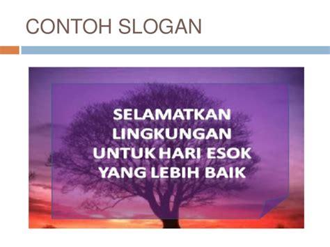 menulis slogan dan poster