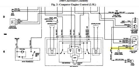 2000 Nissan Xterra Distributor Diagram