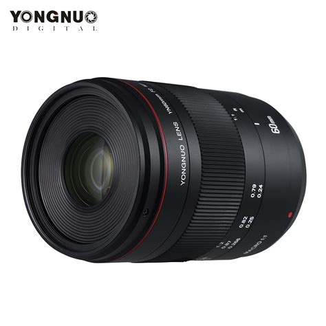 aliexpress buy yongnuo yn60mm f2 mf 0 234m macro lens for canon eos 70d 5d2 5d3 600d dslr