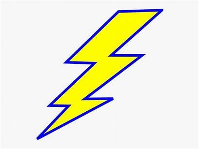 Lightning Bolt Clipart Spark Electric Lightening Yellow