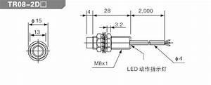 M12 Proximity Sensor Tr12