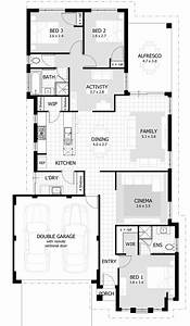 3 bedroom house designs and floor plans interesting three With three bed room house plan