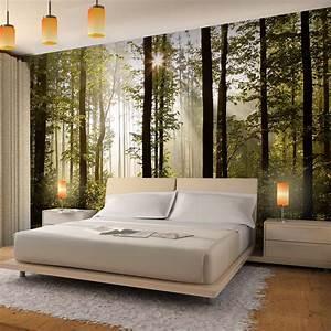 Alternative Zu Tapete : vlies fototapete 39 wald 39 352x250 cm 9010011a runa tapete ~ Michelbontemps.com Haus und Dekorationen