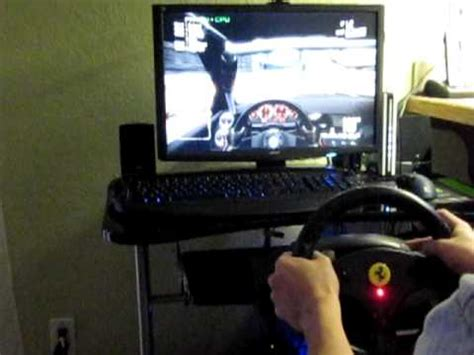thrustmaster gt experience thrustmaster gt experience racing wheel gameplay