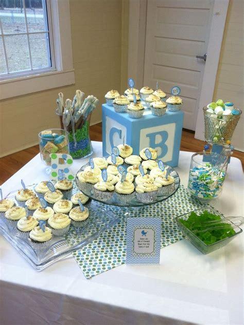 baby shower desserts for boy baby boy blue shower dessert baby baby pinterest