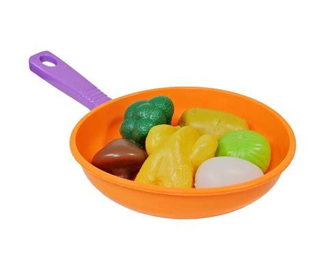 accessoire cuisine jouet jeu jouet fille poêle dinette avec set repas 7 accessoires