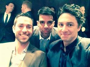Zach Braff, Zachary Quinto and Zachary Levi all in the ...