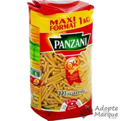 panzani p 226 tes macaroni le paquet de 1kg adopteunemarque