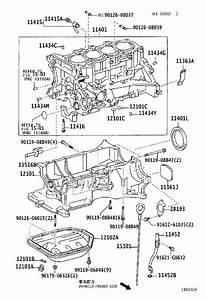 Toyota Prius Engine Crankshaft Seal  Rear   Seal  Type T