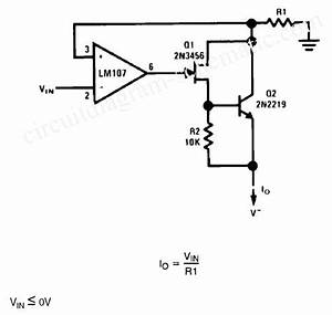 Simple Precision Current Source Circuit Circuit Diagram World