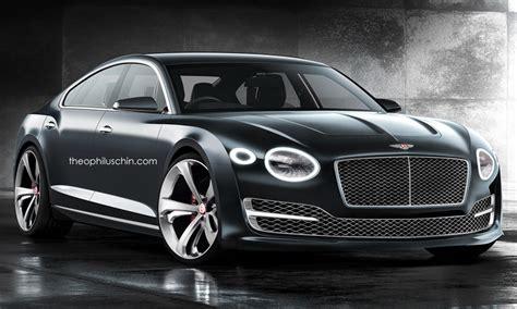 Bentley Fourdoor Coupe Has A Lot Of Promise